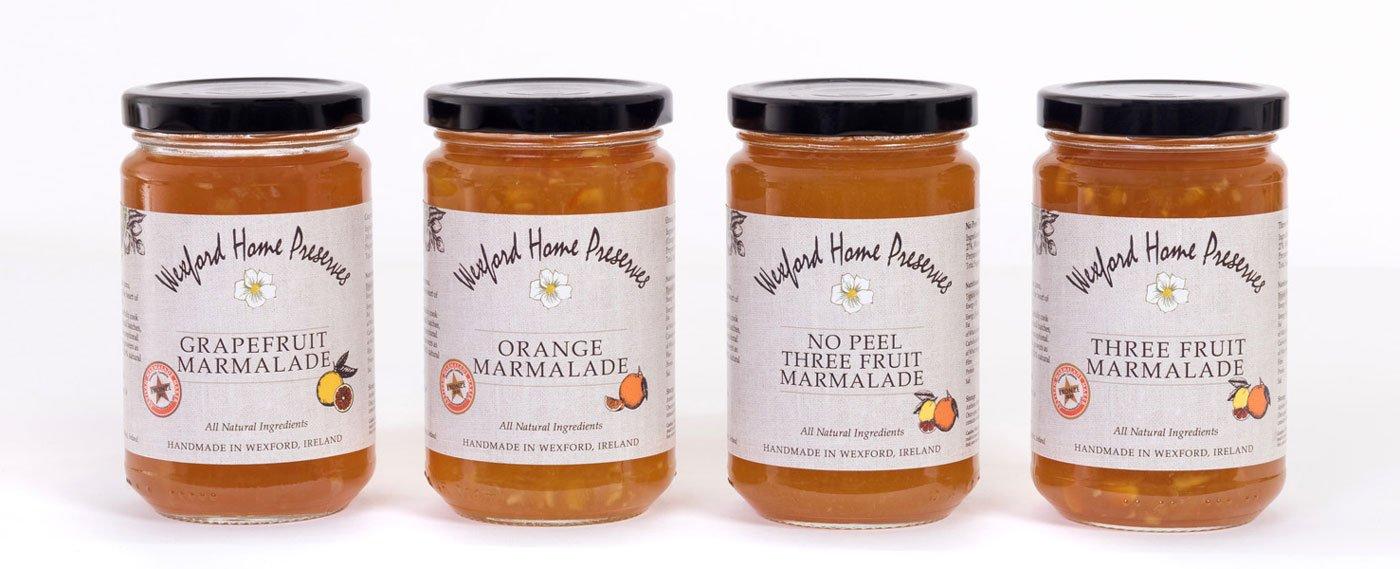 Wexford Home Preserves Main Range Marmalades