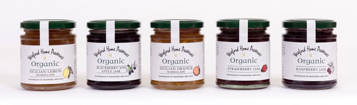Wexford Home Preserves Organic Range Spaced
